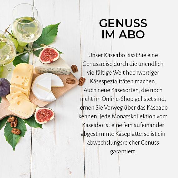 Infos zum Käseabo